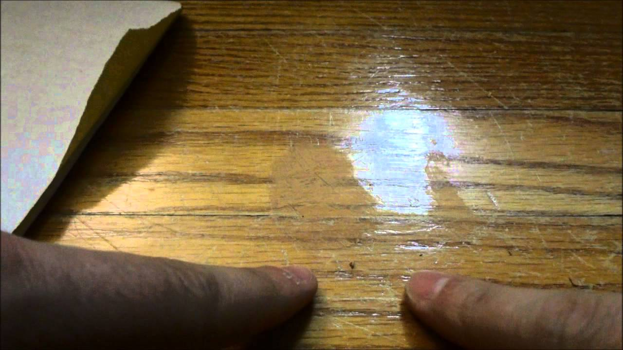 Deep Scratches In Hardwood Floors