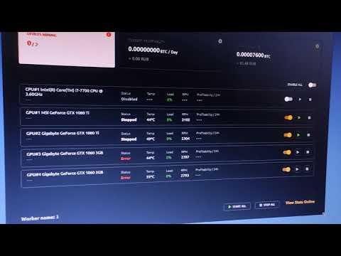 РЕШЕНИЕ проблемы с NiceHash для GTX 1060 3Gb KawPow и 4-х гиговых на DaggerHashimoto