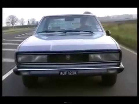 Top Gear Fiat 130 Coupe Lancia Gamma Coupe Peugeot 504 Coupe