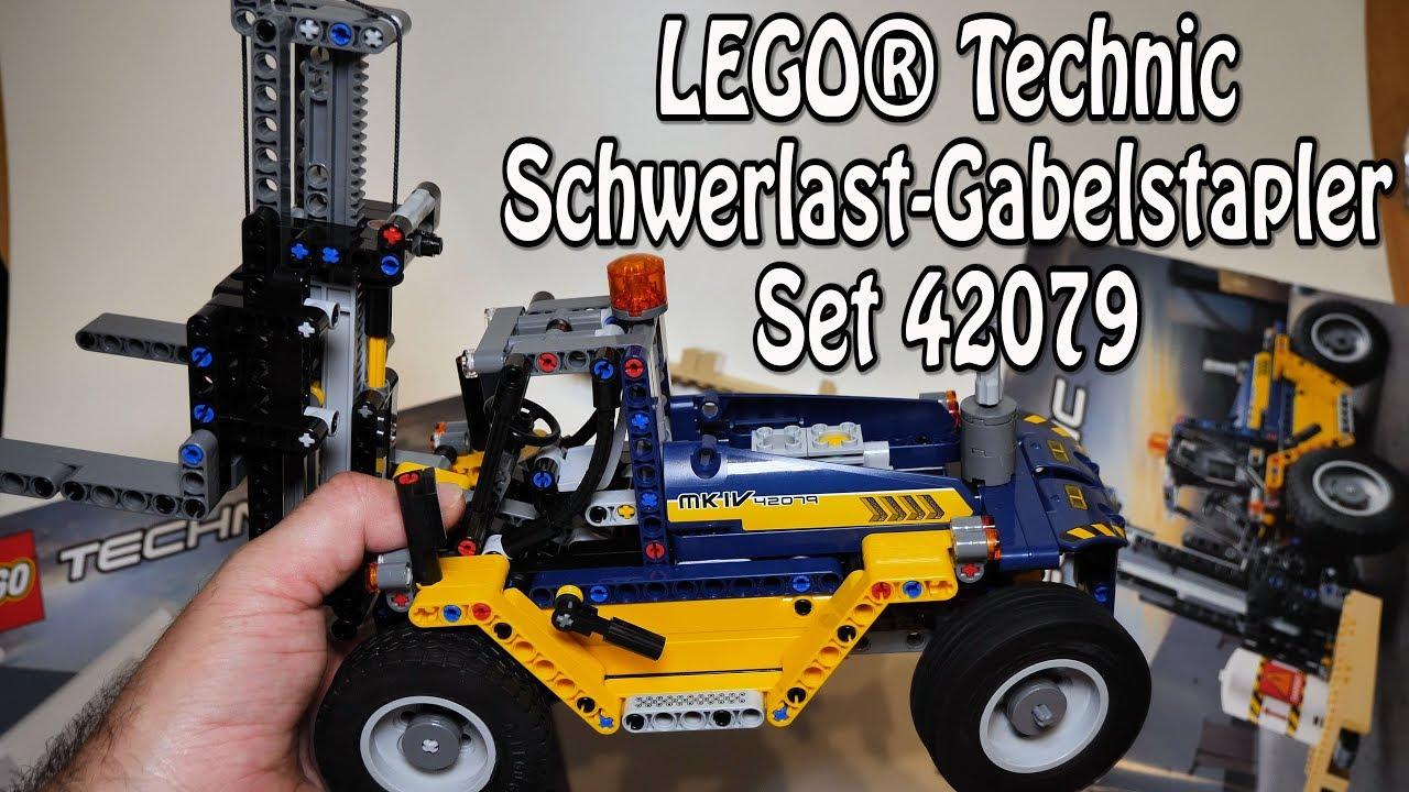 Lego Schwerlast Gabelstapler Technic Set 42079 Review Deutsch
