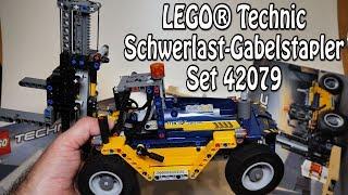 LEGO Schwerlast-Gabelstapler (Technic Set 42079 Review deutsch)