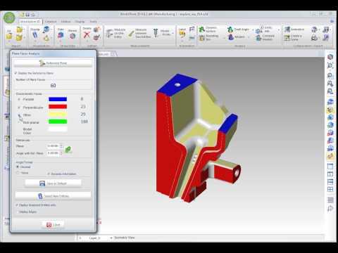 WorkXPlore 3D - 平面検証とフェースタイプ検証