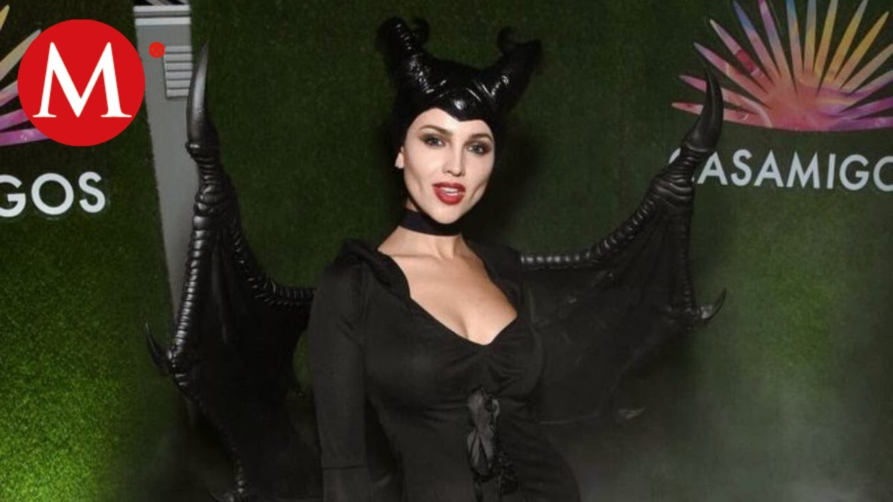 Eiza Gonzalez Es Malefica De Disney En Fiesta De Halloween