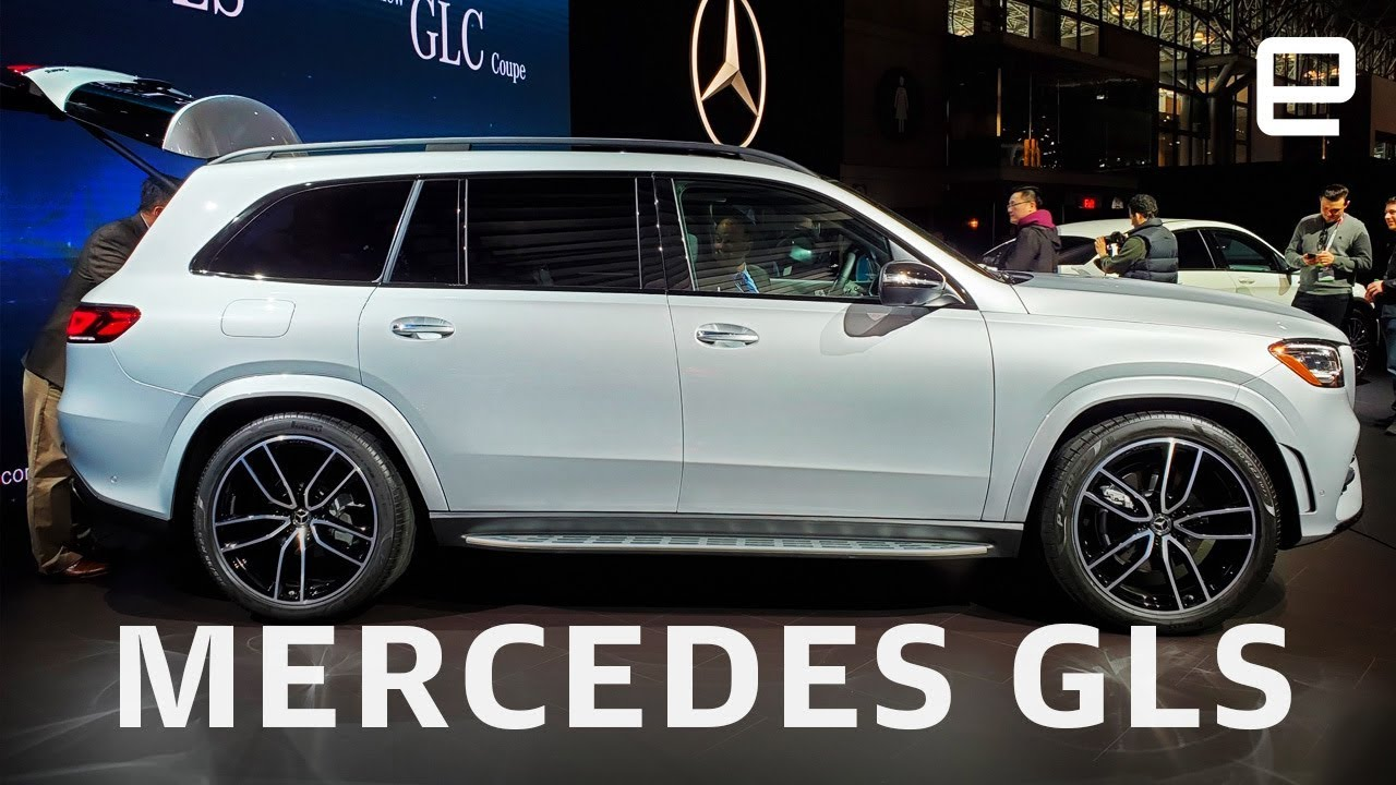 2020 Mercedes Benz Gls First Look At Ny Auto Show 2019