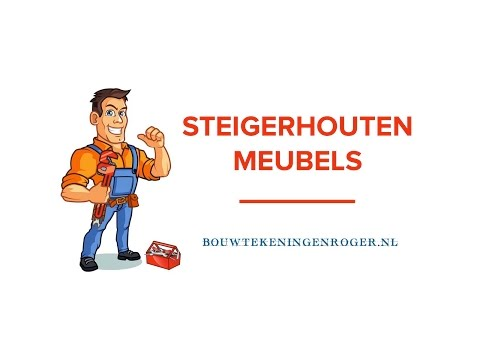 Steigerhouten Meubels Maken – Bouwtekening Steigerhouten Meubels