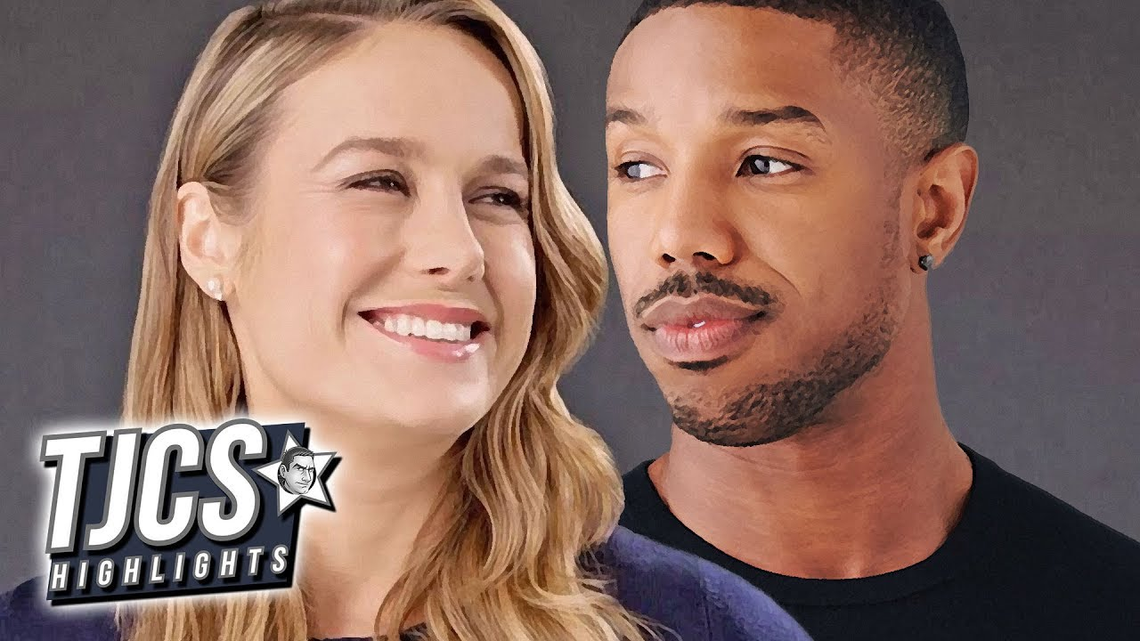 70c85992f377e5 Captain Marvel s Brie Larson To Star In Just Mercy With Michael B Jordan