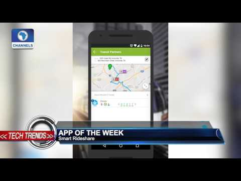 "Tech Trends: App Of The Week  Features ""Smart Rideshare"""