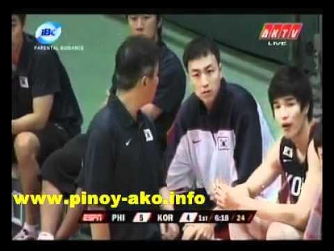 Smart Gilas Pilipinas vs Korea Jones Cup 2011 Part 1