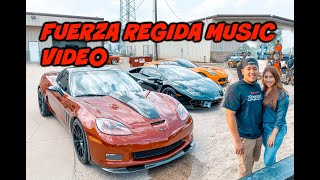 CRAZY BURNOUTS FOR FUERZA REGIDA NEW MUSIC VIDEO!!
