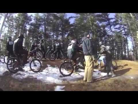 2013 Winter Bike Series - Lost Valley - Auburn Maine