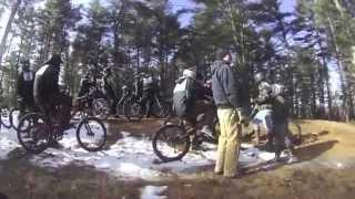 2013 Winter Bike Series - Lost Valley - Auburn Maine