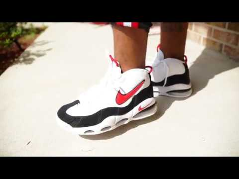 size 40 68f78 0245c Nike Air Max Uptempo '95 Black/Red/White are Back + On Foot
