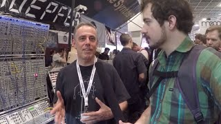 Dieter Doepfer interview at Musikmesse 2015 #TTNM