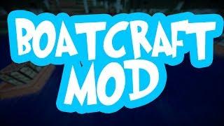 Nowe łodzie! Minecraft: BoatCraft MOD