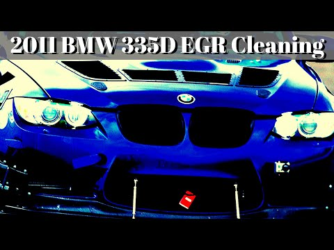 BMW 335D Diesel - EGR Cleaning Part 1