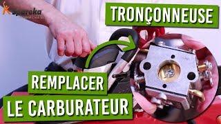 Comment changer le carburateur de votre tronconneuse