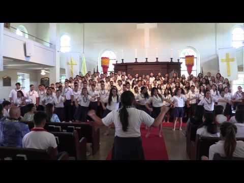 KS Hawai'i sings The Prayer at Kawaiaha'o Church 2017