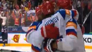 США 0:2 Россия - Овечкин (второй гол, третий период) 16.05.2015