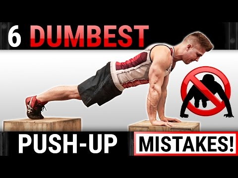 6 Dumbest Push-Up Mistakes Sabotaging Your Chest Growth! STOP DOING THESE!