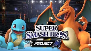 SSBPM: Squirtle VS Charizard (Duels)