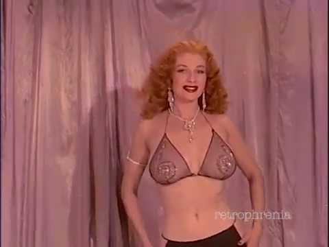Tempest Storm burlesque dance 'Take it Off' by The Genteels