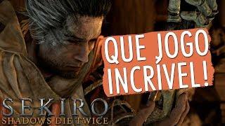 SEKIRO: SHADOWS DIE TWICE - GAMEPLAY DO INÍCIO! [pt-br]