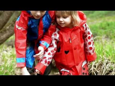 Детский плащ и сапожки