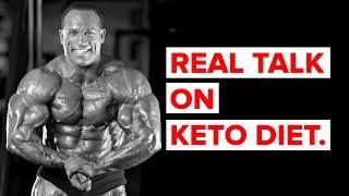 Ketogenic Diet: Palumbo Sets the Record Straight