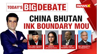 China Bhutan Ink Boundary MOU   Mapping India's Strategy Ahead   NewsX