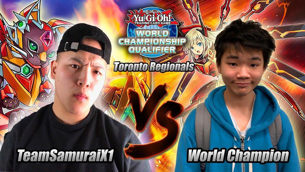 Download YU-GI-OH! TEAMSAMURAIX1 VS WORLD CHAMPION RYAN YU! SALAMANGREAT VS SKY STRIKER! LIVE REGIONALS 2019!