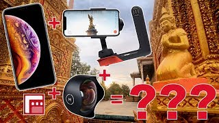 iPhone XS | Freefly MoVI | FiLMiC Pro Tech Review - How to Make a Cinematic Cellphone Video!