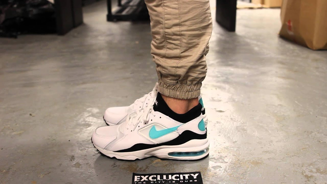 "fca077f5efc6 Air Max 93 ""Dusty Cactus"" - On Feet Video   Exclucity - YouTube"