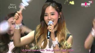Vietsub kara SNSD Kissing You @ Yooheeyeols Sketchbook SoShiTeam 360Kpop