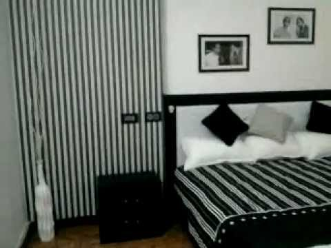 Interior Design A Black And White Bedroom Kerala Home