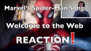 Marvel's Spider-Man Song | Welcome to the Web | #NerdOut Reaction