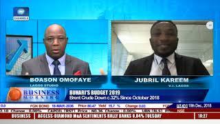 Previewing Budgetary Key Assumptions As Buhari Presents 2019 Budget |Business Morning|