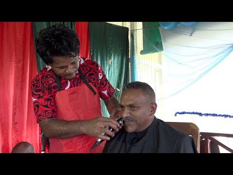 Fijian Minister for Lands & Mineral Resources Hon. Faiyaz Koya closes the Movember campaign