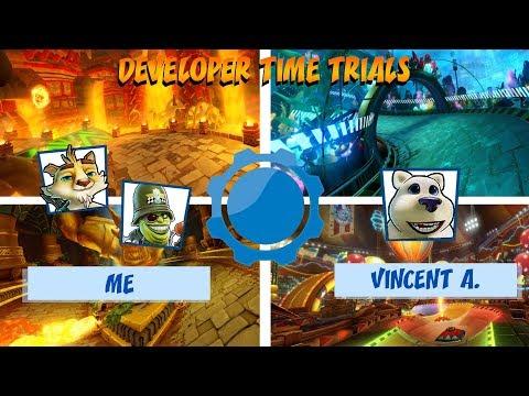 Crash Team Racing: Nitro-Fueled | Developer Time Trials Episode 1 (Vincent A.)