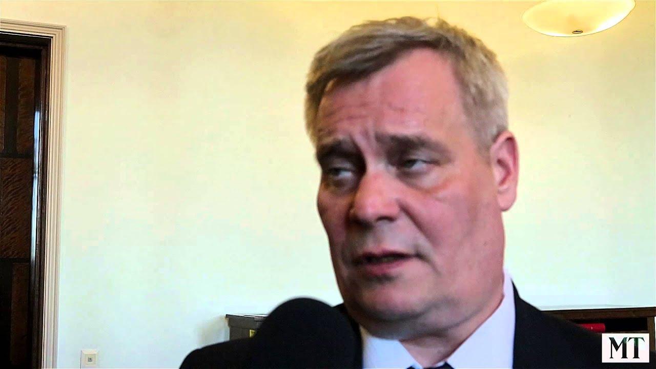 Antti Rinne Mt N Vaalitentissä Koko Haastattelu Youtube