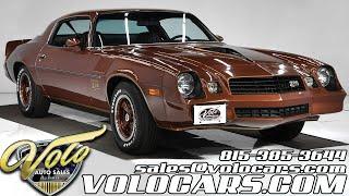 1978 Chevrolet Camaro Z28 for sale at Volo Auto Museum (V18993)