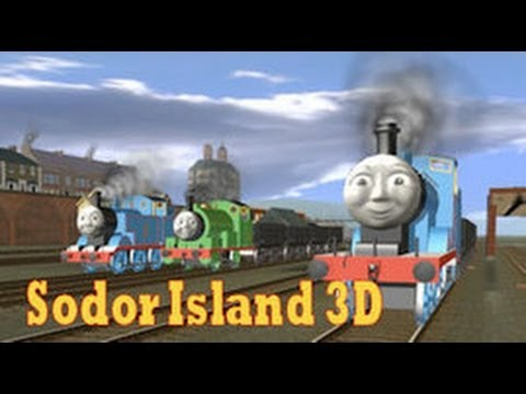 How to download Sodor Island 3D Content