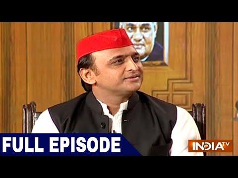 Akhilesh Yadav in Aap Ki Adalat (Full Interview) | India TV Samvaad on Yogi Govt's 1 year