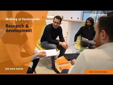 Research and development | Job area movie | Vanderlande