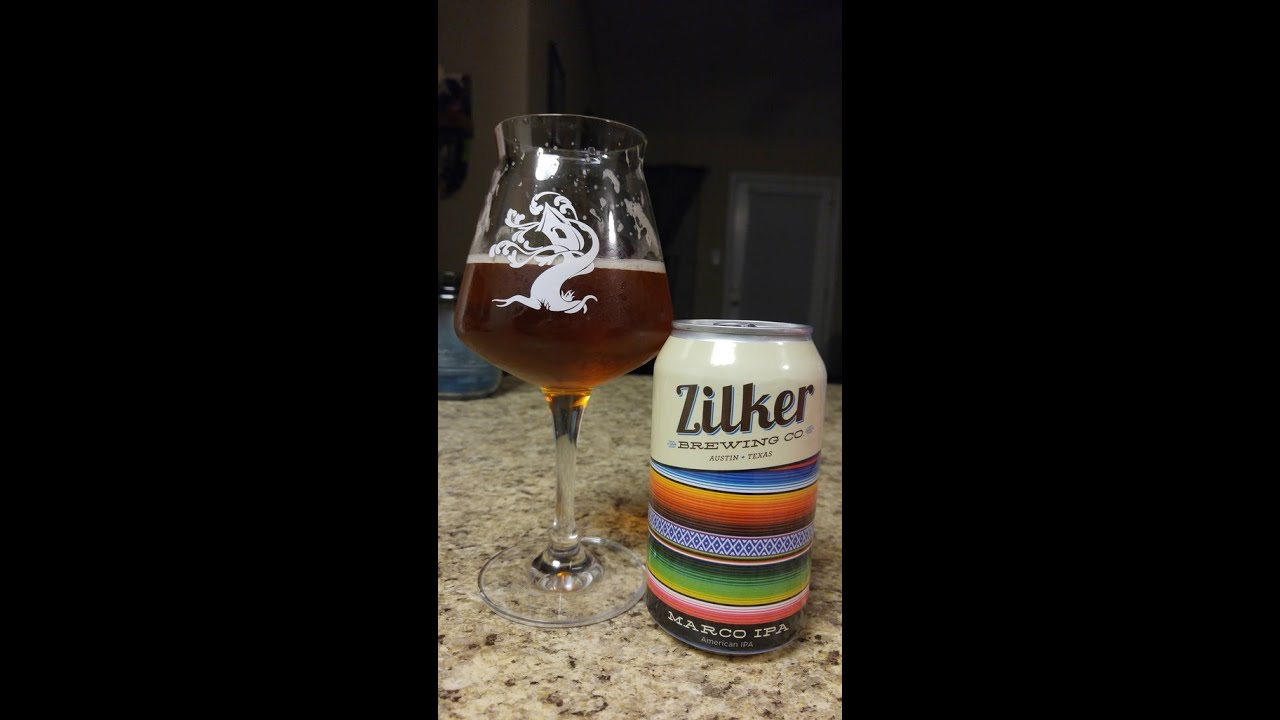 Texas Beer Reviews (#37): Zilker Brewing - Marco IPA - YouTube