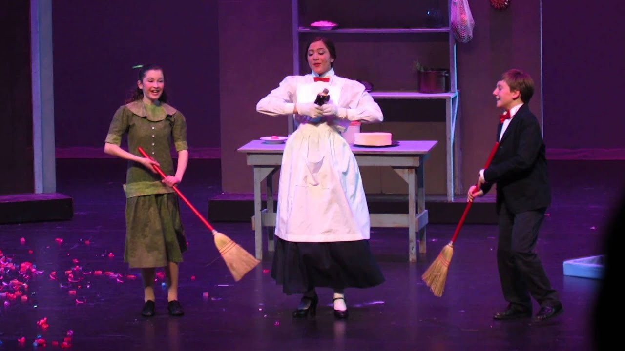 """Song """"Spoonful of Sugar"""" from Mary Poppins, Disney's London and Broadway smash-hit musical"""