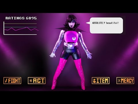Mettaton Ex Cosplay - Costume DIY - UNDERTALE