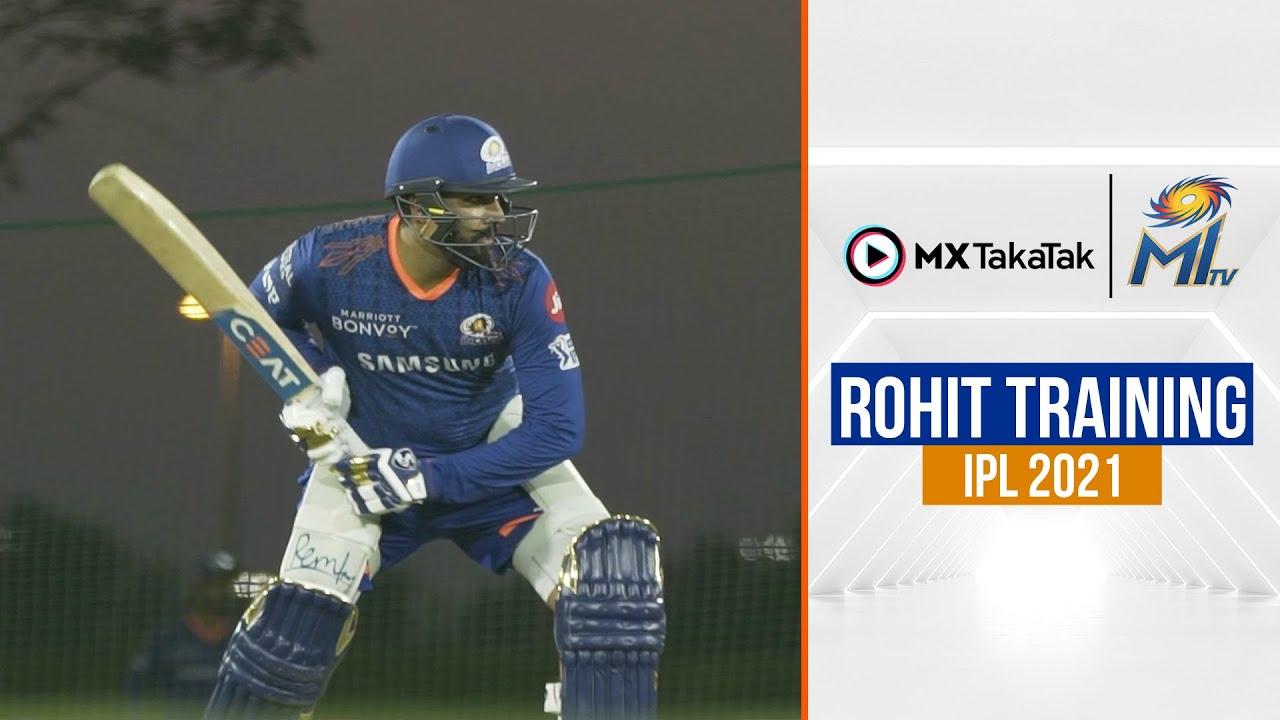 Rohit Training   रोहित ट्रेनिंग   IPL 2021