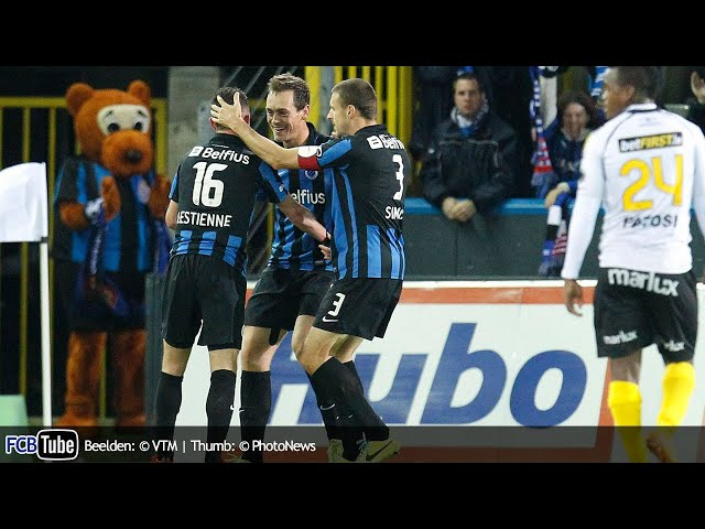 2013-2014 - Jupiler Pro League - 14. Club Brugge - Sporting Lokeren 1-0