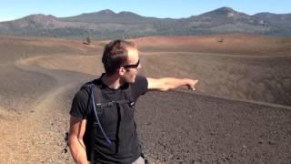 cinder cone volcano laasen volcanic national park