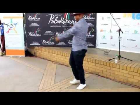 Mafikizolo, Theo Kgosinkwe shows a few dance moves